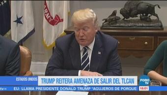 México podría pagar el muro a través del TLCAN Trump