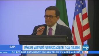 México Mantendrá Renegociación Tlcan Guajardo