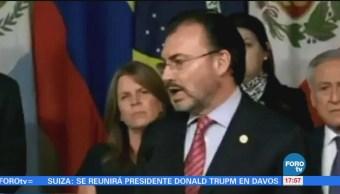México Retira Dialogo Entre Gobierno Oposición Venezolana