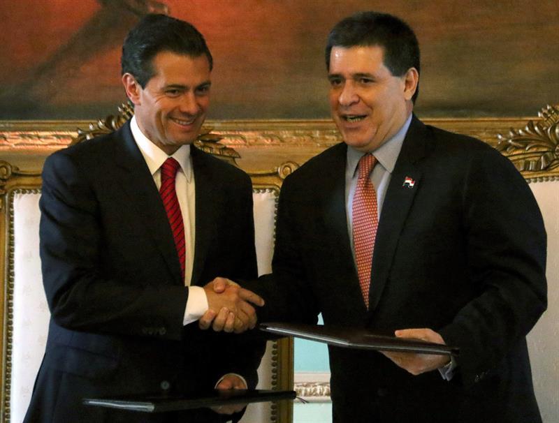 México y Paraguay fortalecen acuerdos económicos y comerciales