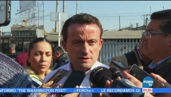 Mikel Arriola visita Iztacalco