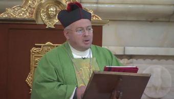 Canónigo Julián López Amozurrutia pide en Catedral a no creyentes a convertirse