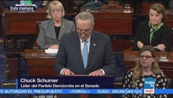 Muchos republicanos también se oponen al muro y fin del DACA: Schumer