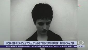 Muere Dolores O'Riordan, la inconfundible voz de The Cranberries