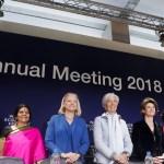 mujeres presiden foro davos primera vez