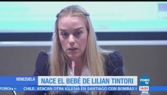 Nace Bebé Lilian Tintori Opositor Venezolano Leopoldo López