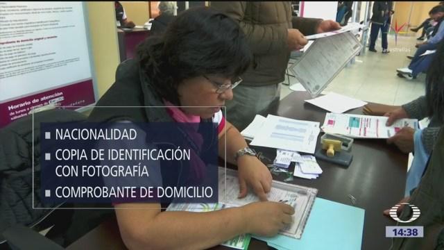Necesario renovar la credencial de elector