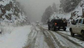 se preven nevadas heladas y fuertes vientos este miercoles extreme precauciones