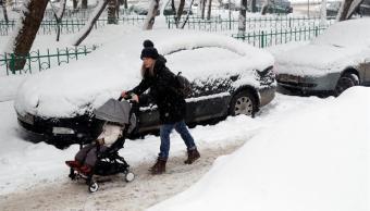 Moscú registra la mayor nevada de este invierno