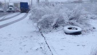 Las nevadas persisten en Chihuahua, Coahuila, Nuevo León y Tamaulipas