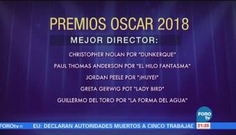 Nominaciones Oscar 2018 Mexicano Guillermo Del Toro