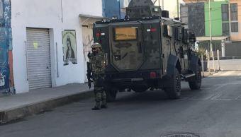 Sedena y Policía Federal realizan operativo en unidad habitacional de Iztacalco
