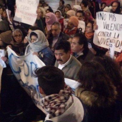 Papá de Marco Antonio Sánchez encabeza marcha para exigir justicia