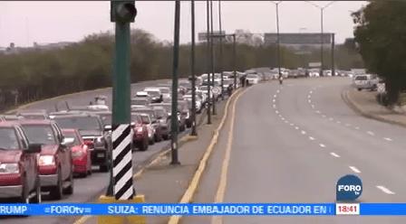 Paisanos Saturan Puentes Fronterizos Chihuahua Tamaulipas