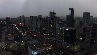 Amanece la Ciudad de México con 6 grados; seguirán lluvias y caída de granizo