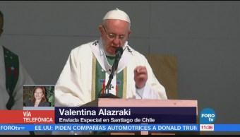 Papa Francisco se prepara para visita a cárcel en Chile