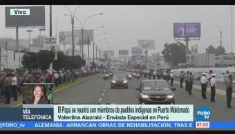Papa Francisco se reunirá con pueblos indígenas en Puerto Maldonado, Perú