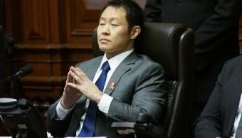 Grupo opositor Perú expulsa hijo menor expresidente Fujimori