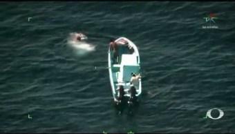 Pescadores oaxaqueños narran cómo sobrevivieron a la deriva