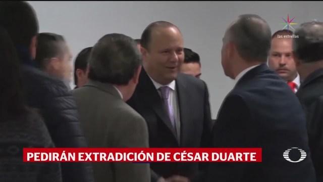 PGR presentará solicitudes de extradición contra César Duarte