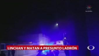 Pobladores San Juan Tuxco Consuman Linchamiento