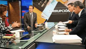 Yeidckol Polevnsky, Enrique Ochoa Reza y Damián Zepeda en mesa de Despierta
