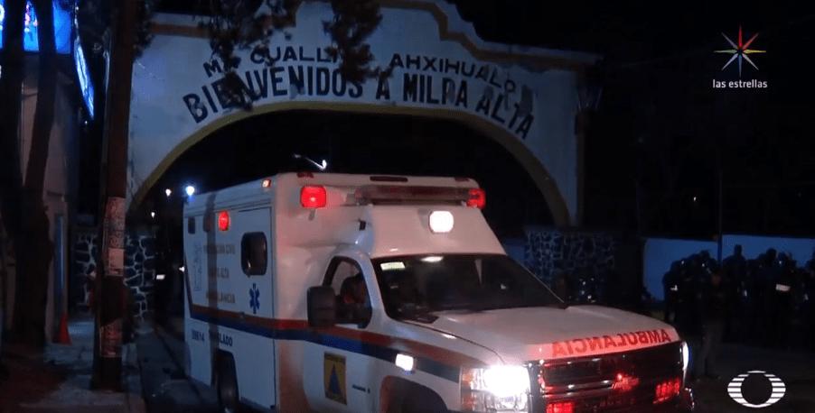 Hombre rescatado de linchamiento, en Milpa Alta, cuenta con antecedentes penales