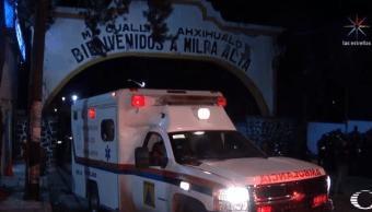 Policías CDMX rescatan a hombre que sería linchado en Milpa Alta