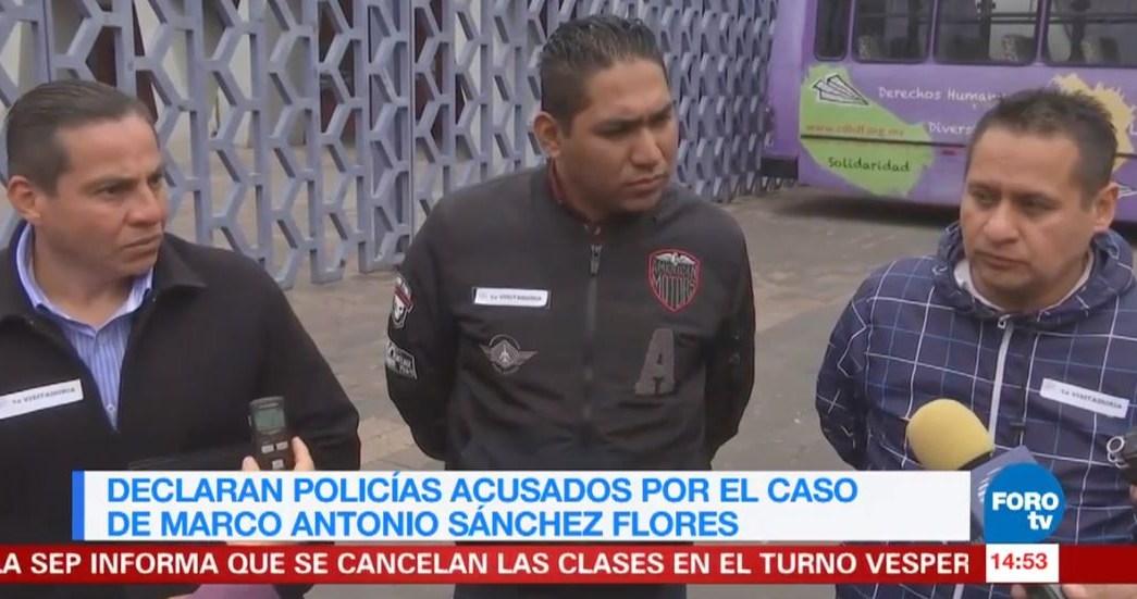 Policías involucrados en caso de Marco Antonio Sánchez comparecen ...