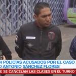 Policías involucrados en caso de Marco Antonio Sánchez comparecen ante CDHCDMX