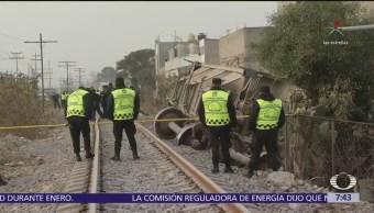 Presentan ante MP al conductor del tren descarrillado en Ecatepec