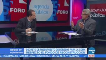 Presupuesto reconstrucción de la CDMX; análisis con Mauricio Merino