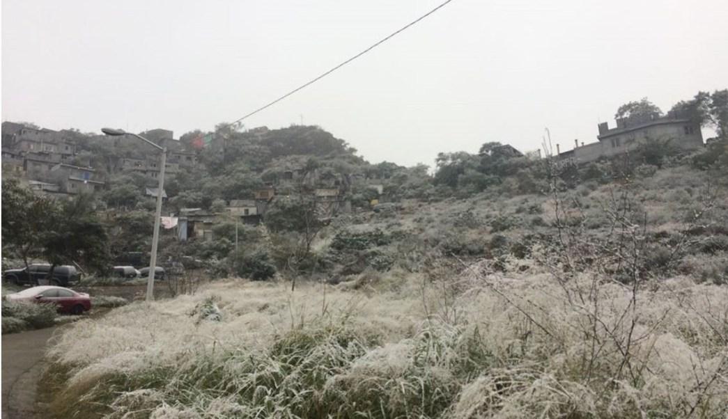rente frío 22 provocará caída de nieve en Baja California