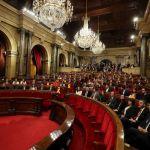 se constituye parlamento cataluna medio crisis secesionista