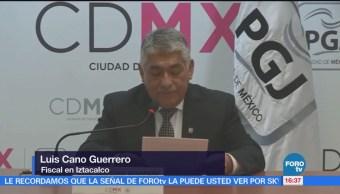 Procuraduría presenta ante un juez a presunto feminicida en Iztacalco