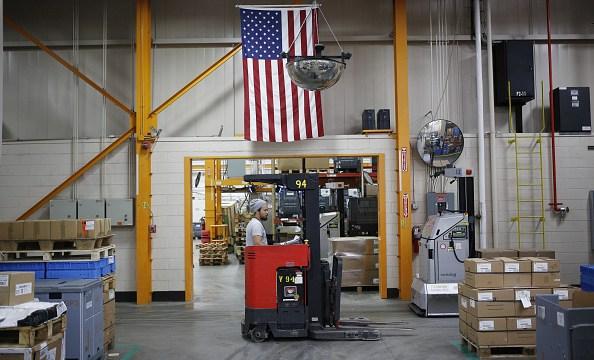 Crece la producción industrial de Estados Unidos