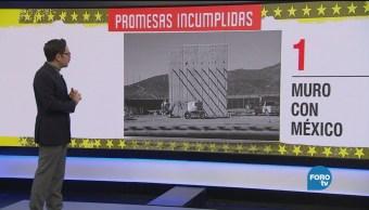 Promesas incumplidas de Donald Trump