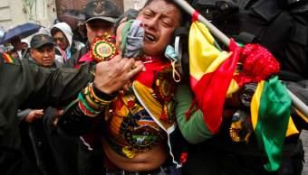 En medio rally Dakar siguen protestas Evo Morales