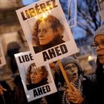 Protestas en París exigiendo la liberación de Ahed Tamimi