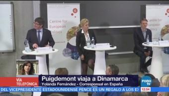 Puigdemont realiza primer viaje desde que huyó de España