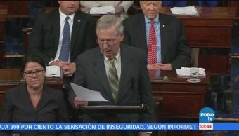 Reacciones en el Senado de EU, tras cierre parcial