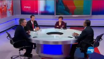 Reforma Fiscal Donald Trump Maricarmen Cortés, José Yuste, Marco Antonio Mares Mario Maldonado