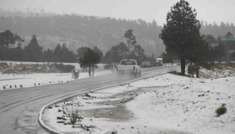 Registran temperatura de menos 13.5 grados en La Rosilla