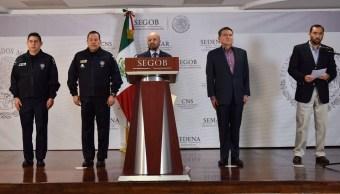 comision nacional de seguridad anuncia que implementara operativos en varias entidades