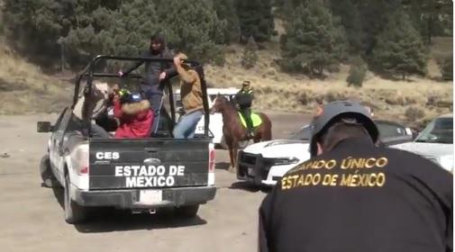 Buscan a cuatro jóvenes en el Nevado de Toluca