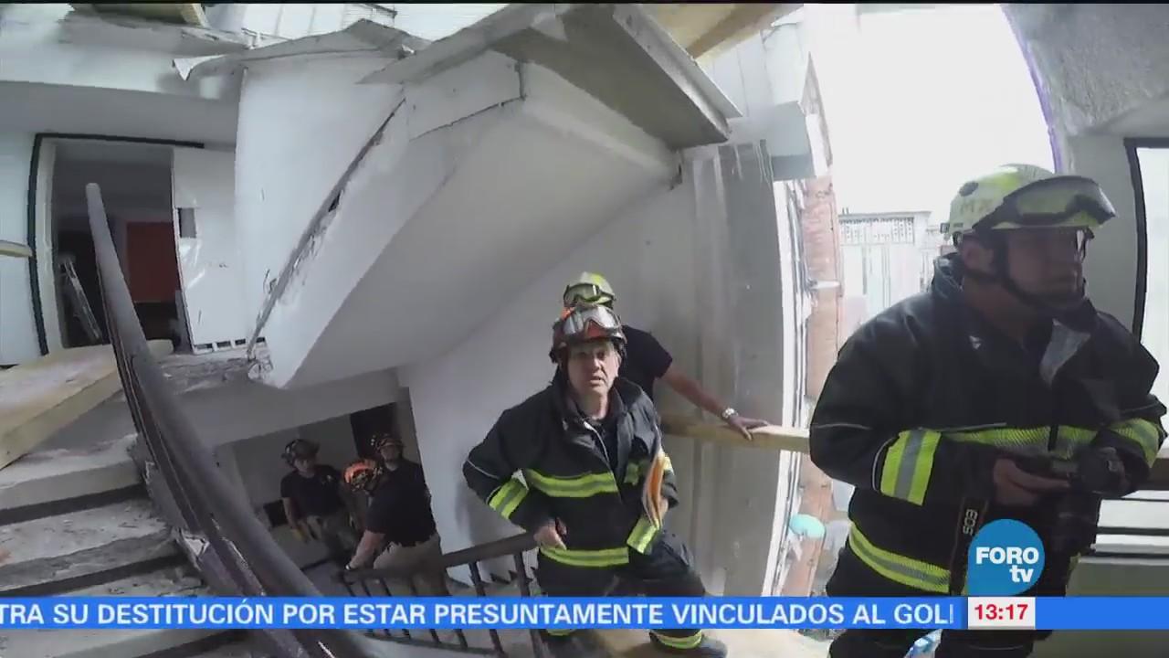 Retiran Muebles Edificio 'Osa Mayor' Doctores Afectado Sismos