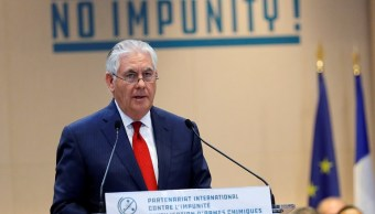 Rex Tillerson responsabiliza a Rusia de ataques químicos en Siria
