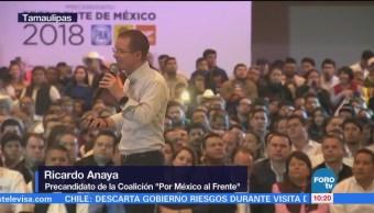 Ricardo Anaya Realiza Acto Precampaña Tampico Tamaulipas