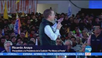 Ricardo Anaya Visita Huixquilucan