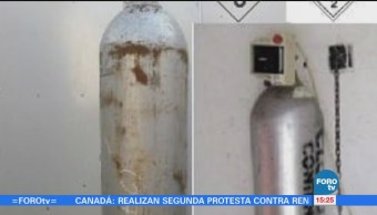 Roban Cilindro Gas Cloro Celaya